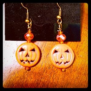 Jewelry - Pumpkin earrings